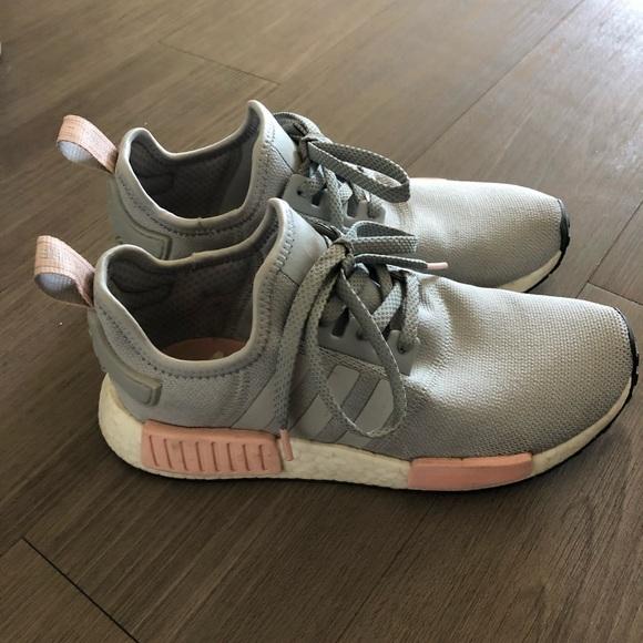 Adidas Shoes Nmd R1 Greypink Poshmark